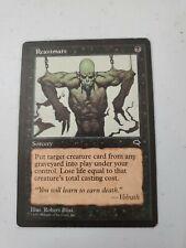 Reanimate Tempest LP Black Uncommon MAGIC GATHERING CARD