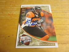 Keenan Lewis 2009 Upper Deck Heroes Autographs Gold #161 #'d 14/25 Card Steelers