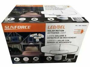 Sunforce 1500 Lumen LED Motion Sensor Security Light Floodlight & Solar Panel UK