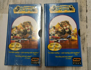 LOT OF 2 Between the Lions VHS PBS Reading Vocabulary Learning Spelling