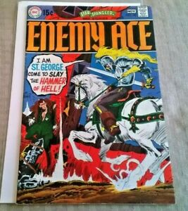 Star Spangled War Stories #147 VF New Enemy Ace Stories  DC 1969 Silver Age