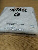 FatFace Size 12. Kirsty V Neck Slub Jumper. Ivory.New Ref R4