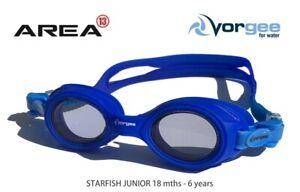 Vorgee Starfish Junior Swimming Goggles, Blue - Childrens Goggles