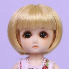 Ruby Red Galleria Bjd StrawBerina, Blonde - Wig Only