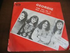 GEORDIE (AC/ DC) can you do it/red eyed lady RARE COVER  ISRAEL ISRAELI p/s