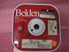 Spool 900'(900 feet) Belden 18 AWG Brown Hook-Up Wire 9918