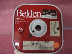 Spool 900'(900 feet) Belden 18 AWG Brown Hook-Up Wire 9918