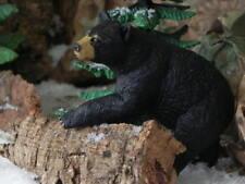 Black Bear Animal Figurine Male Bear Diorama Wildlife North American Safari