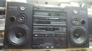 KENWOOD HiFi 5 pieces Stack system separates A-92 X-92 T-92L DP-920 P-42 LS-63