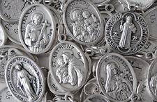 VERY NICE RCIA or CCD Catholic Medal & Holy Card Grab Bag - VERY GOOD BUY - NICE