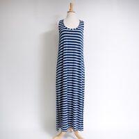 J. Crew Women's Striped Maxi Tank Dress M