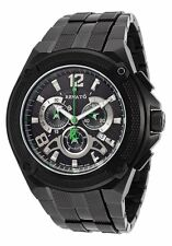 Renato Mens Cougar RXB-A Swiss Chronograph Black Dial 1000ft Diver Watch
