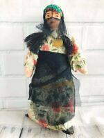 Vintage Egyptian Cloth Souvenir Doll