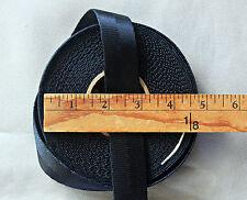 9 3/8 yds BLACK 1 inch Nylon Webbing BELTS Other Sewing Crafts