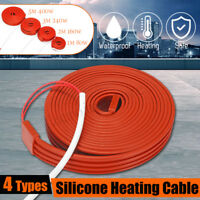 1m-5m 80W/m Electric Heating Cable Water Pipe Frost Protection Anti-Freeze