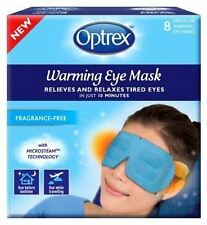 Optrex Warming Eye Mask 8x Single Use Masks.