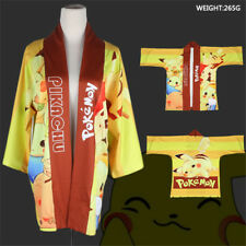 Pokemon Pikachu Feather Weave Support Colorful Clothes Cosplay Cloak Anime Coat