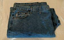 Carhartt Men's Jeans Big & Tall Relaxed Fit Denim 52x30 Carheart Mens