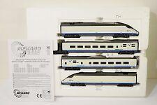 Mehano High Speed AVE Passenger Cars Set HO Scale Train Car Model #3968/T684 MIB