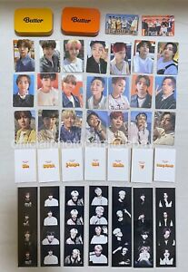SALE BTS Butter Weverse Pre-order Gift 4 CUT PHOTO Message Official PHOTO CARD