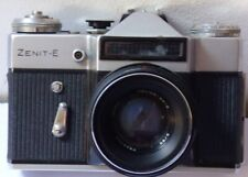 Vintage Zenit E Camera with original carrying cover case