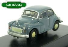 BNIB N GAUGE OXFORD 1:148 NMOS006 Morris Minor Saloon Clipper Blue Car