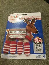 Brand New Elf On The Shelf Elf Pets Polar Pattern Set For Reindeer