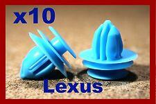 10 LEXUS door card panel fascia trim lining panels fastener clip parts