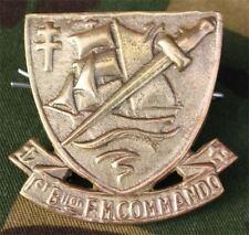 insigne de béret du commando Kieffer