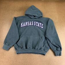 Russell Athletic Kansas State Women's Size Medium Gray Pullover Hoodie
