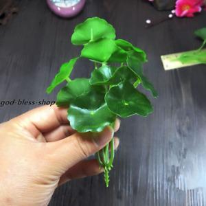 4pcs artificial plastic lotus flower small home garden decoration for vase photo