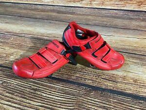 SHIMANO RP3 Carbon Road Cycling Shoes Biking Boots 3 Bolts Size EU41, US7.6