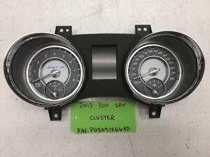 2013 CHRYSLER 300 SRT SRT-8 METRIC SPEEDOMETER GAUGE CLUSTER P05091766AD 11-14