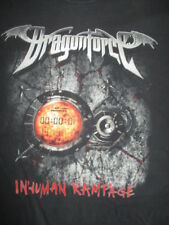 2006 British Power Metal Band DragonForce Inhuman Rampage Concert Tour LG Shirt