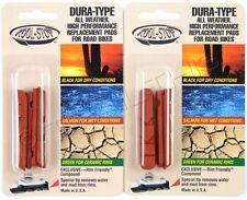 2-Pair Kool-Stop Wet/Dry Brake Shoe Pads for Shimano Dura-Ace Ultegra 105 4-Pads