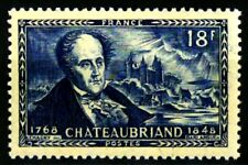 France 1948 Vicomte de Chateaubriand Yvert n° 816 neuf ** MNH