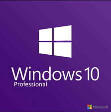 Microsoft Windows 10 Professional Pro Product Key Retail 32 + 64 Bit