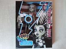 MONSTER HIGH Puppe Frankie Stein ALIVE Ich sprühe Funken Mattel Doll NEU & OVP