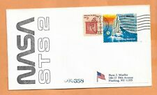 SHUTTLE COLUMBIA STS 2 LAUNCH NOV 12,1981 MOFETT FIELD CA # 358 SPACE COVER