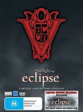 The Twilight Saga: Eclipse - Limited Collectors Edition DVD NEW R4 3 DISC SET