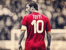 POSTER FRANCESCO TOTTI A.S. AS ROMA 10 ROME SOCCER FOOTBALL CALCIO CAPITANO #35