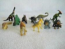 New ListingLot Of 11 Assorted Mixed Mini Dinosaur