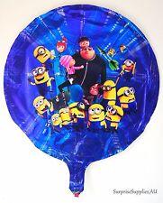 "Despicable Me Minions round foil balloon 18""(45cm) birthday party decoration AU"
