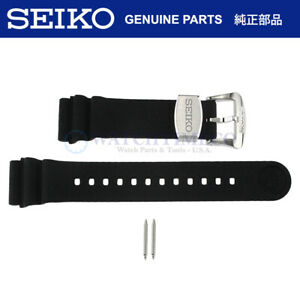Genuine SEIKO 22mm Silicone Watch Band SRP777 SRP779 SRPB SRPC91 Prospex Turtle