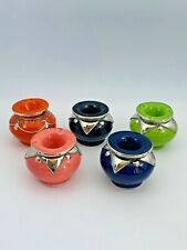 Moroccan Ceramic Ashtray Indoor Outdoor Smokeless Cigarettes Choose the color