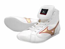 Mizuno Boxing Shoes Short White x Gold × Red Made in Japan Bto free shipping Jpn