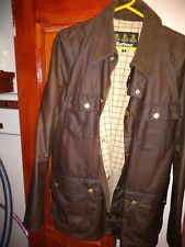 Mens barbour  wax jacket .size medium..Almost New