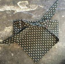 dog bandana /neckerchief medium -Handmade with Vintage Fabric