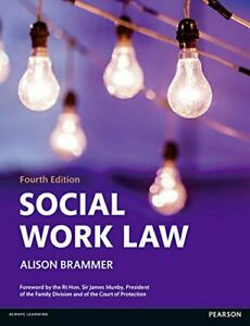 Social Work Law by Brammer, Alison Book The Cheap Fast Free Post