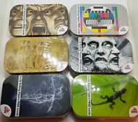 Brand new Gizeh Metal Tobacco Tin Box+3x50 Booklets Gizeh Rolling Papers